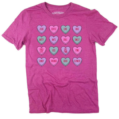 Candy Hearts Graphic Tee