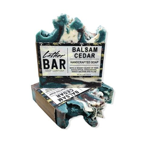 Balsam Cedar Bar Soap by Lather Bar Soap Company