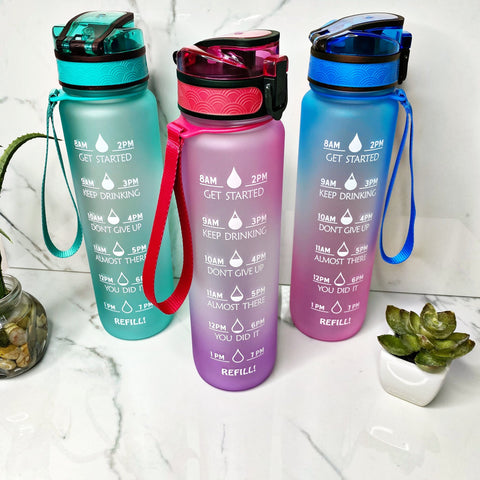 Motivational Water Bottles