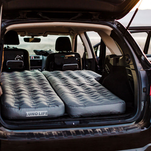 Camping air mattress, camping mattress, full air mattress, car air mattress, camping essentials for sleeping in your car