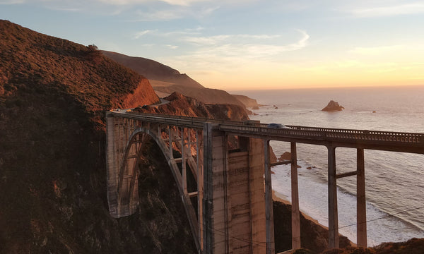A sunset off the California coast is beautiful no matter the season. Enjoy a pacific coast sunset year-round with this fall road trip destination.