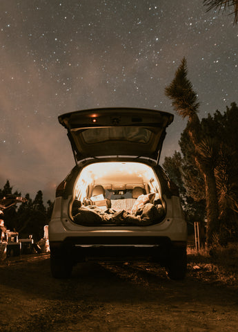 camping air mattress, camping mattress, sleeping in a Subaru Outback, how to sleep in a car, sleeping in a car, best car to sleep int, Subaru Outback Camping