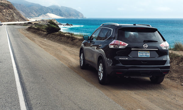 Venture off the beaten path on your next car camping trip with a Nissan Rogue.