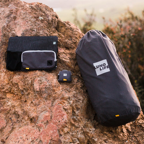 Get all your car camping essentials at once with this convenient bundle.