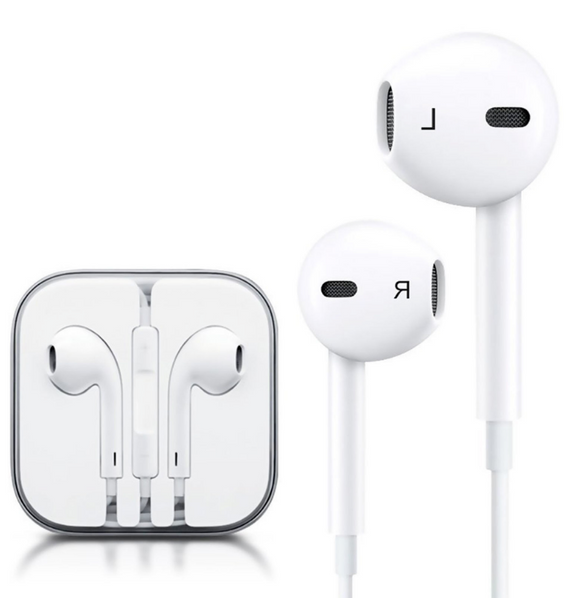 Stereo Earphone in line control with mic Headset 3.5mm In Ear Earbuds For iPhone