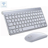 2.4G Wireless Keyboard and Mouse Mini Multimedia Keyboard Mouse Combo Set