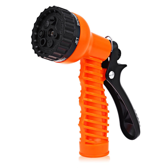 Wegarden Multifunctional 7-pattern Plastic Watering Nozzle Car Washing Garden Water Gun Spray