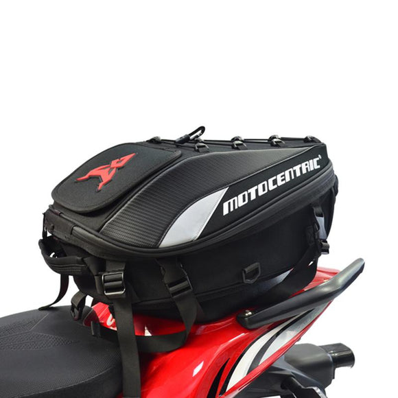 Waterproof Motorcycle Tail Bag Multi-functional Durable Rear Motorcycle Seat Bag High Capacity Rider Backpack 11-MC-0102 Latest