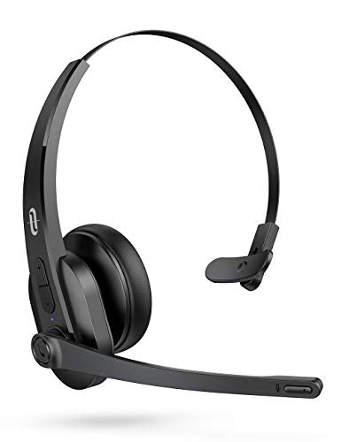 TaoTronics Trucker Bluetooth Headset with Microphone,