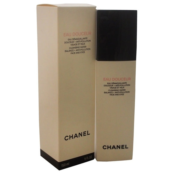 Eau Douceur Cleansing Water Balance + Anti-Pollution Face and Eyes by Chanel for Unisex - 5 oz Cleansing Water