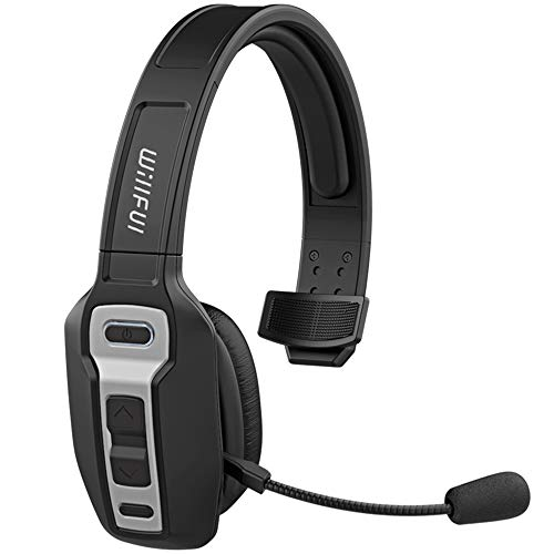 Bluetooth Headset, Willful BT 5.0 Wireless Headset with Microphone