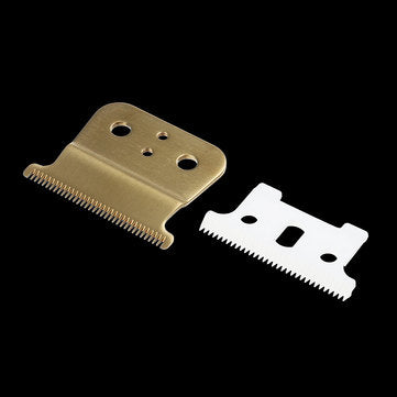 2pcs Ceramic Cutter + Metal Bottom Cutter For Andis Shaver