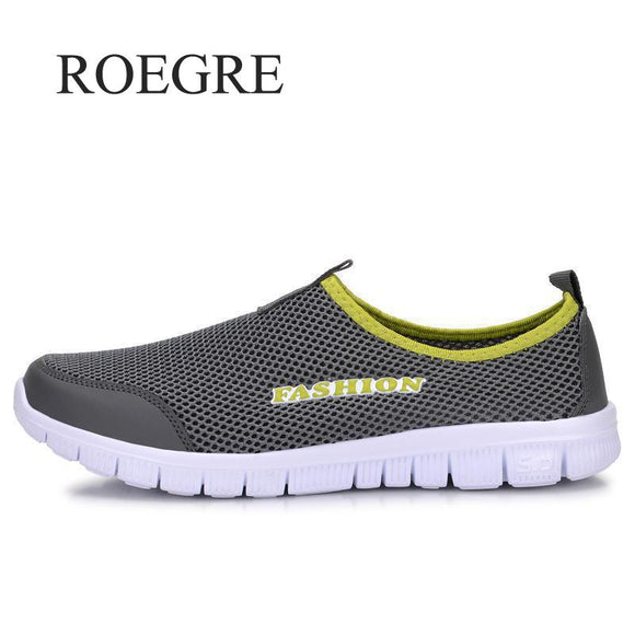Men's Summer Sneakers With Plus Sizes 35-46, Comfortable, Breathable Mesh, Color Selection
