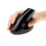5D Wired Optical Gaming Mouse With USB Portable 1200DPI 2.4GH Ergonomic Upright Vertical Mouse for PC Desktop Laptop