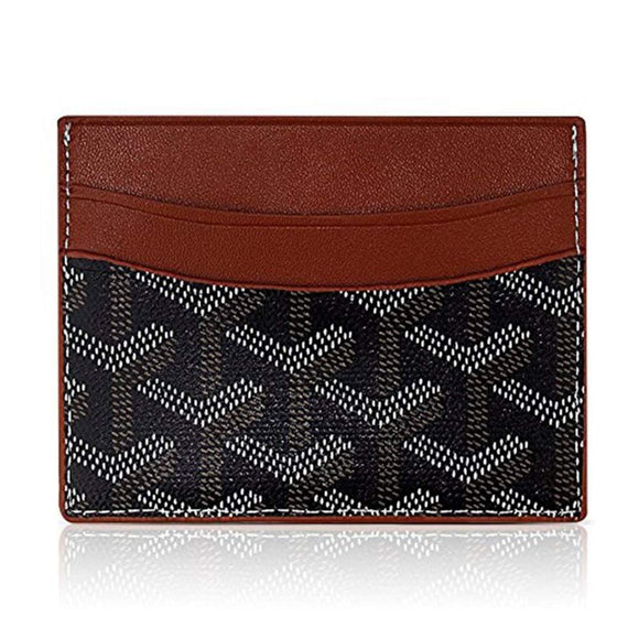 BeAllure Luxury Designer Genuine Leather Slim Credit Card Holder, Minimalist Front Pocket Wallet with Gift Box