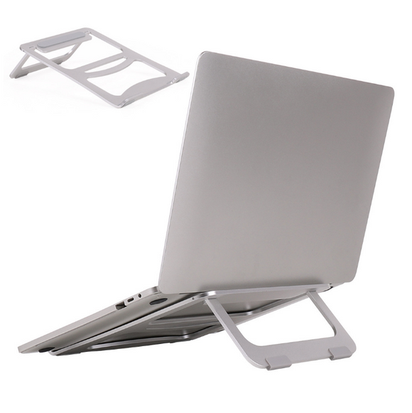 Laptop Stand Cooling Base Foldable Notebook Office Desk Cooler Holder Bracket Portable Tablet Aluminum Alloy