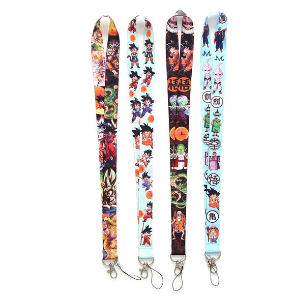 P2822 DRAGON BALL Z Lanyard Badge ID Lanyards/ Mobile Phone Rope/ Key Lanyard Neck Straps keychain for key