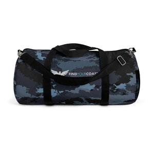 Find Your Coast Camo Duffel Bag