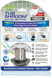 TubShroom® Ultra (Stainless) Hair Catcher to Prevent Clogged Tub Drains