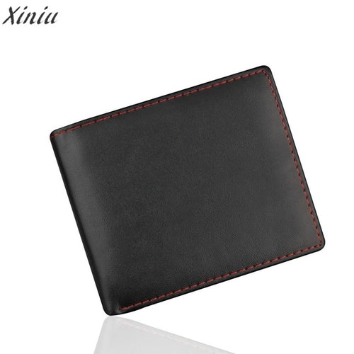 Men's Fashion Bifold Business Style  pu Leather