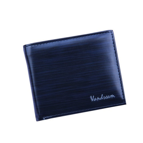 Men's Bifold Wallet Business Style  PU Leather