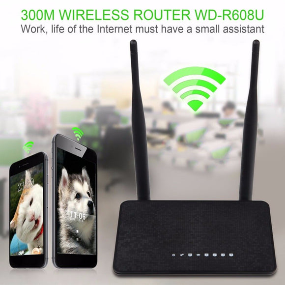 300Mbps Wireless WiFi Router 1WAN + 4LAN Ports  MT7628KN Chipset