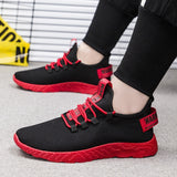 Men Vulcanize Casual Sneakers Breathable Mesh Fabric, No-Slip Souls