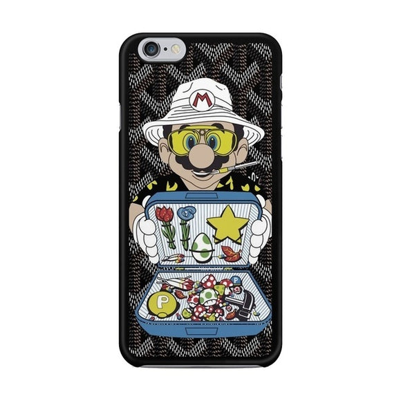 Goyard Mario Pattern Hard Plastics Case Cover for iphone 4 5s 5c SE 6 6s 6plus 7 7plus Samsung galaxy s3 s4 s5 s6 case