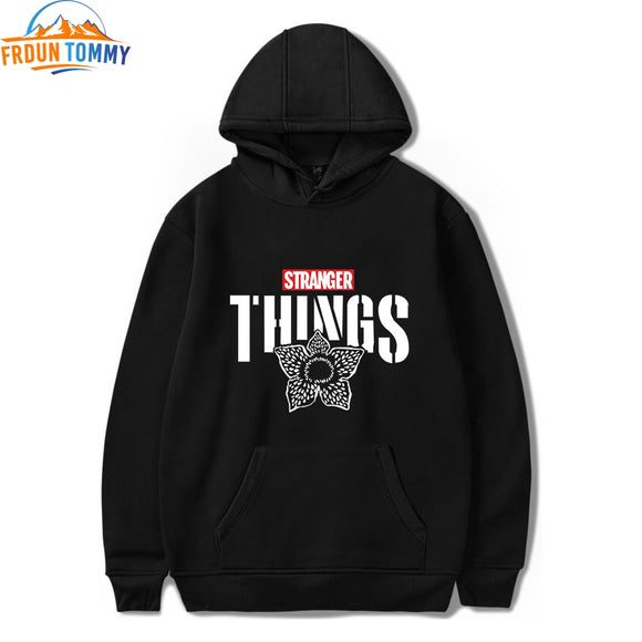Stranger Things 2D Hoodies Women/Men Fashion Long Sleeve Hooded Sweatshirt 2019 Hot Sale Casual Trendy Streetwear pop Clothes