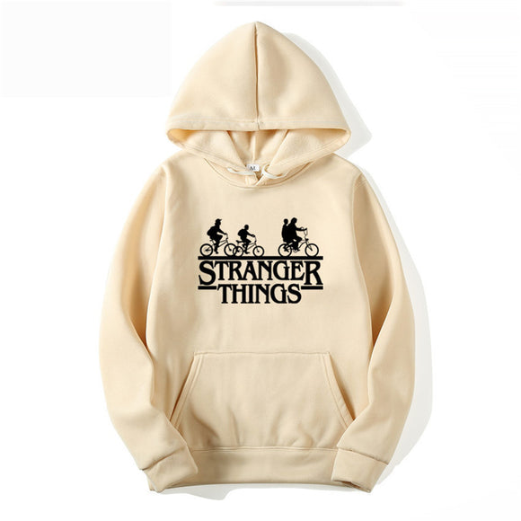 2019 New Stranger Things hoodies Men/lady Funny Stranger Things print Clothing Capless Streetwear Men hoodie Sweatshirts WGWY36