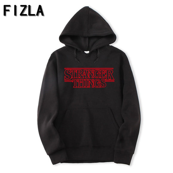Stranger Things New Hoodies Men/Women Pullovers Sweatshirts Autumn Print with Hip Hop Winter Hoodies Men Brand