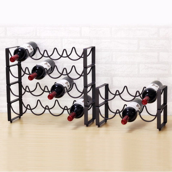 1 PCS Iron Wine rack  LU719411