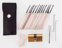 Kit de lockpicking simple pour débutants.