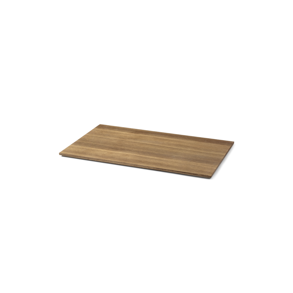 Tray for Plant Box Large oak smoaked