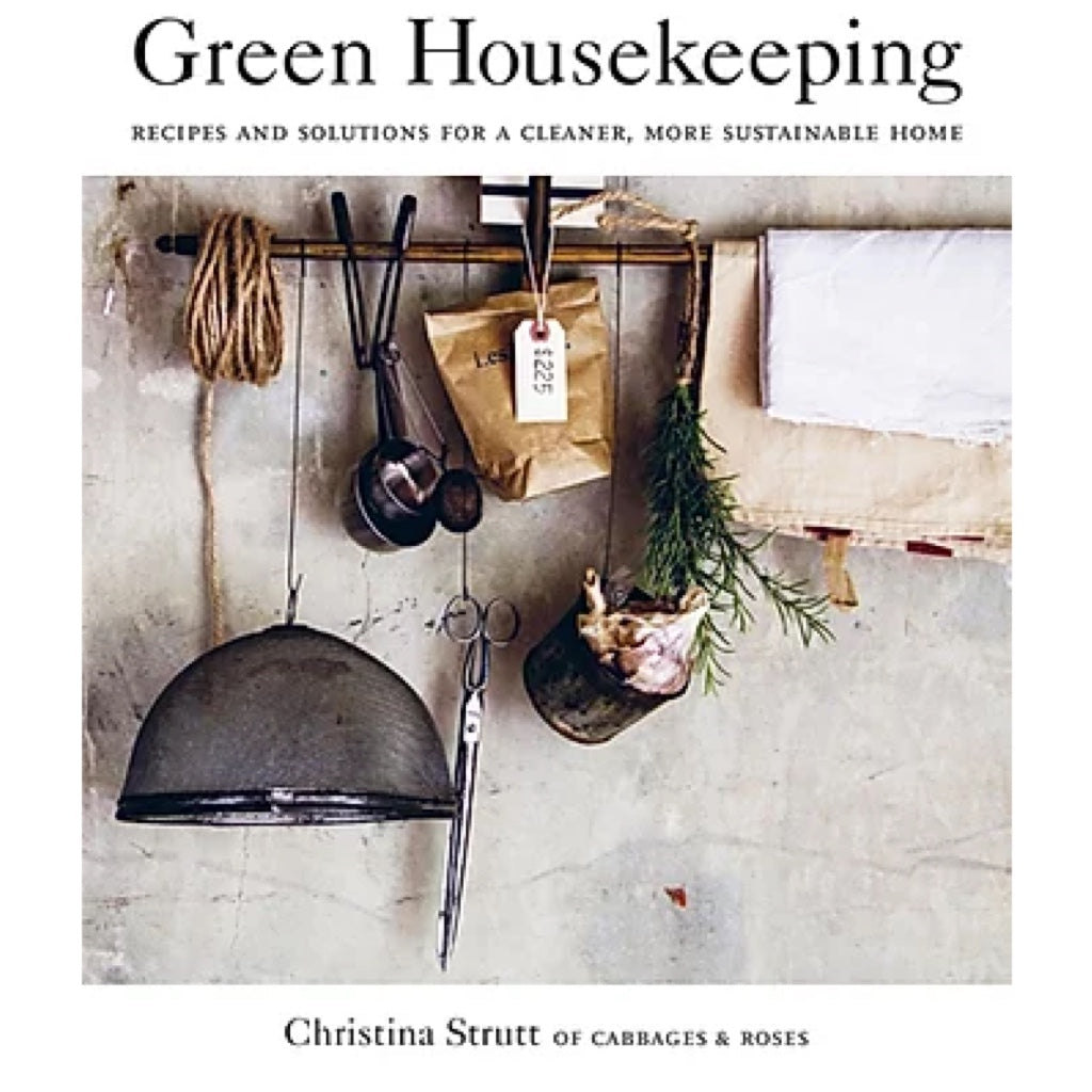 Hardcover Buch Green Housekeeping von Christina Strutt von Cabbages&Roses