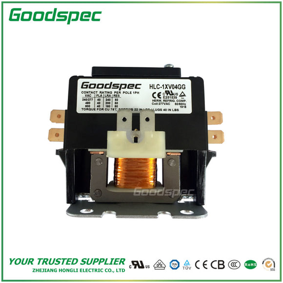 HLC-1XV04GG Definite Purpose Contactor