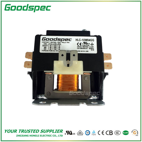 HLC-1XW04GG Definite Purpose Contactor