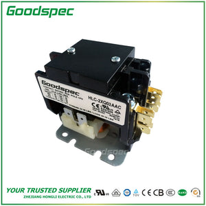 HLC-2XQ02AAC(2P/30A/24VAC) Definite Purpose Contactor