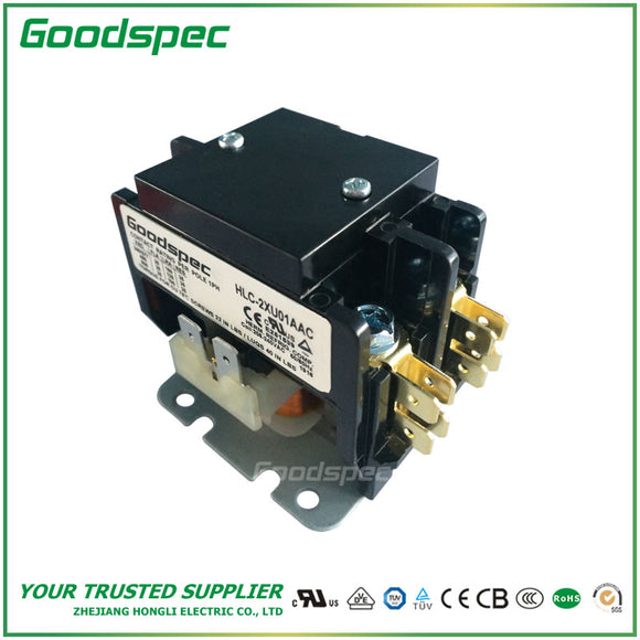 HLC-2XU01AAC(2P/25A/208-240VAC) Definite Purpose Contactor