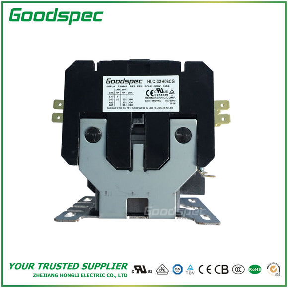 HLC-3XH06CG Definite Purpose Contactor