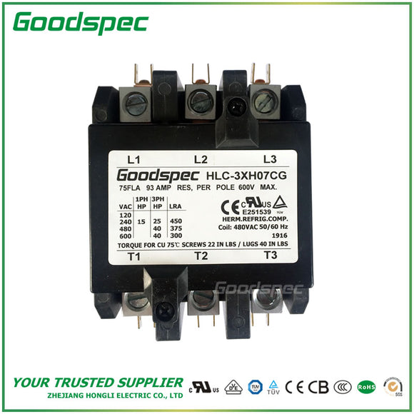 HLC-3XH07CG Definite Purpose Contactor