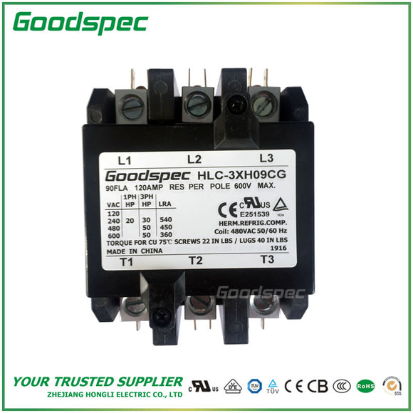 HLC-3XH09CG Definite Purpose Contactor