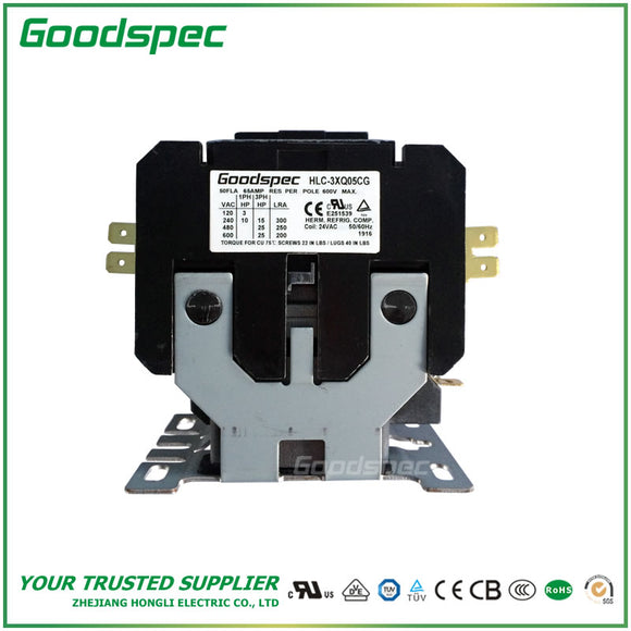 HLC-3XH05CG Definite Purpose Contactor