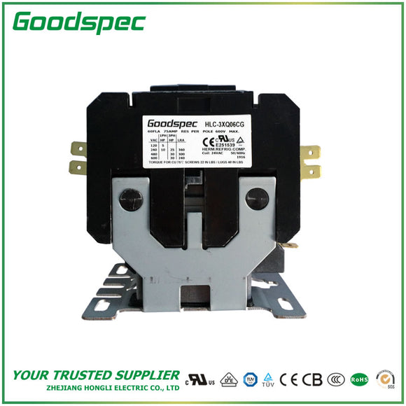 HLC-3XQ06CG Definite Purpose Contactor