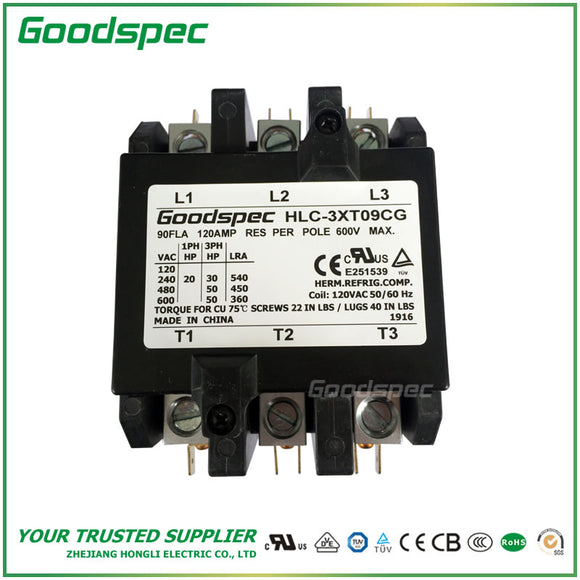 HLC-3XT09CG Definite Purpose Contactor