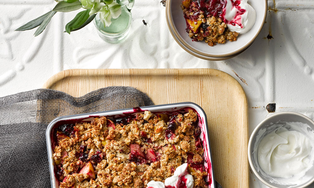 RECIPE: Anytime Crumble
