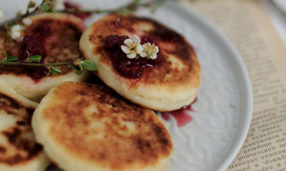 Nutritious & delicious easy pikelets for Dad