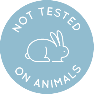 blue Not Tested on Animal icon proving New Edition NZ is Cruelty Free