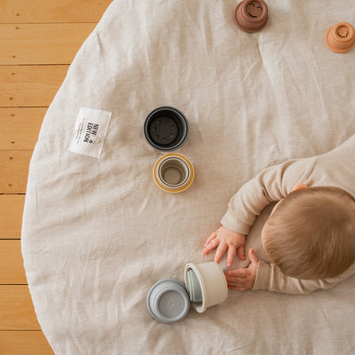 NZ Wool and Linen Play Mat