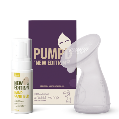 Pumpd Breast Pump and 150ml New Edition Hand Sanitiser Pack